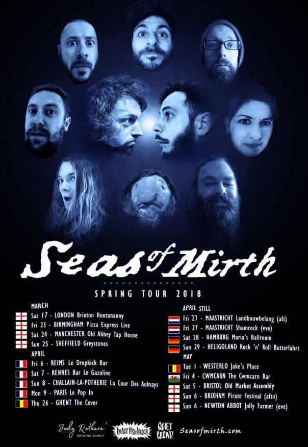 2018 tour poster